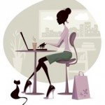 Virtual Assistant + Social Media Manager Woman in the office 218x249